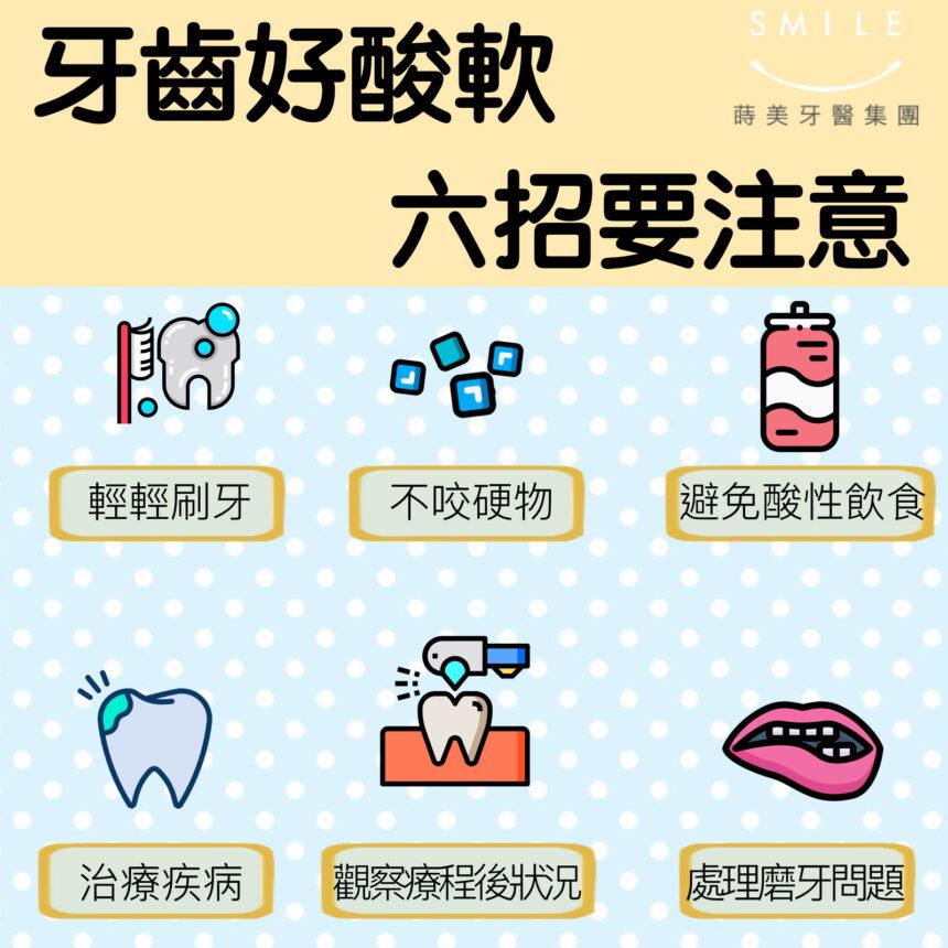 蒔美醫師專欄牙齒好酸軟六招要注意-860x860