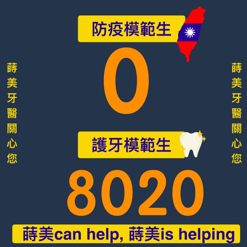蒔美牙齒保健台灣零確診護牙模範生-860x859